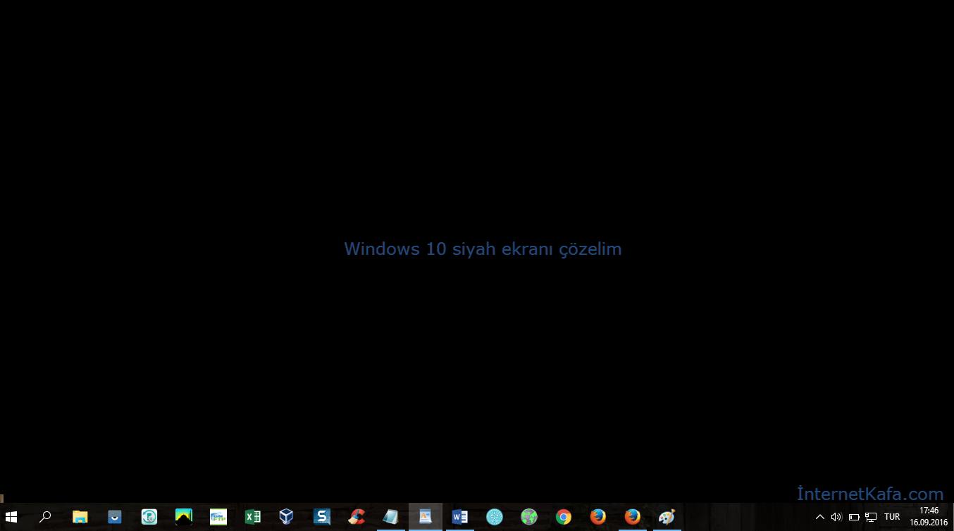 windows-10-da-siyah-ekrani-cozelim