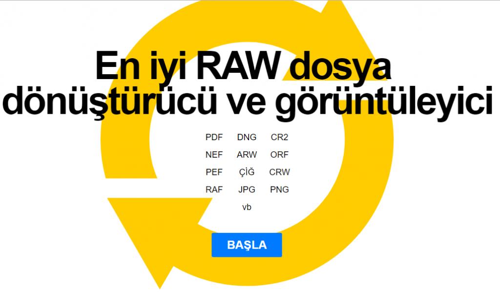 RAW dosya